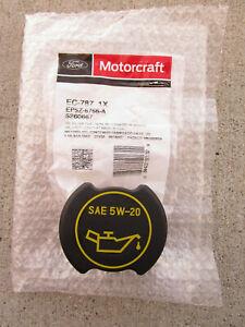 FORD EP5Z6766A EP5Z-6766-A MOTORCRAFT EC787 EC-787 ENGINE OIL FILLER CAP OEM NEW