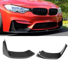 Carbon Fiber Front Bumper Splitter Flaps for BMW 4Series F80 M3 F82/F83 M4 15-17