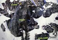VOLCOM 2004 Bjorn Leines ROCKS snowboard poster ~MINT~*NEW old stock*!!