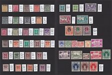 Burma. 1937 onwards. Fine mint selection on two stockcards.