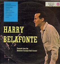Harry Belafonte Excerpts from the Belafonte Carnegie Hall Concert [LP]