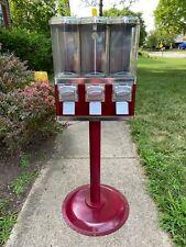 1-800 Vending Machine Triple Play Three Select Candy Tri Vend Bulk Machine