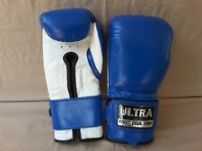 New Leather Muay Thai Boxing Gloves (16oz) Professional Quality