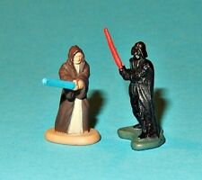 STAR WARS Micro Machines - OBI WAN & DARTH VADER DeathStar Duel - figures lot P