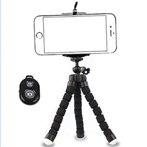 iPhone 7 Plus Tripod Camera with Remote Phone Holder Mount Stand Universal 2017