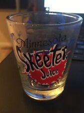 Shot Glass: Minnesota SKEETER Juice
