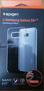 Spigen Nano Fit Slim Protection Premium Clarity for Samsung Galaxy S8 / S8+ Case