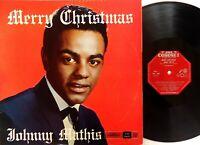 Johnny Mathis – Merry Christmas Vinyl LP 1958 Coronet Australia - KLP-748 RARE