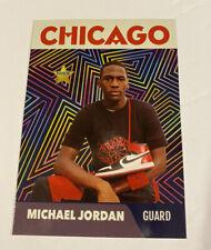 MICHAEL JORDAN 1985 Nike Air Shoe Prism Promo Rookie 🔥1000 SP FLEER MINT