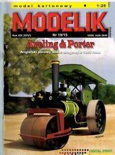 Card Model Kit – Aveling & Porter Steam-Roller