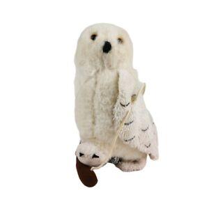 WB Movie World - Hedwig Snowy Owl Soft Animal Small Plush Toy