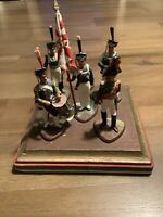 Russian Imperial Infantry-Napoleonic Wars 1800-1812-Base Measures 5 X 5 Inches