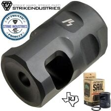 Strike Industries Sail Comp Muzzle Brake 1/2x28 Compact 223/5.56/22LR