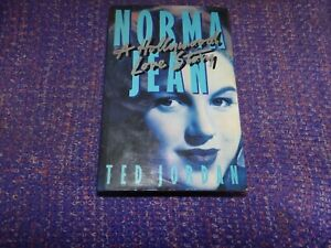Norma Jean A Hollywood Love Story by Ted Jordan Book From 1989