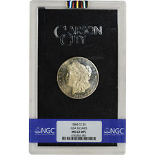 1884-CC US Morgan Silver Dollar $1 - GSA Holder - Mixed - NGC MS62 DPL