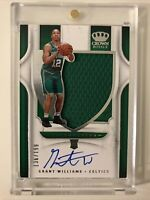 Grant Williams RPA 2019-20 Crown Royale Rookie Auto Patch /199 Celtics SP