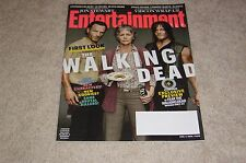 THE WALKING DEAD NORMAN REEDUS ANDREW LINCOLN 2015 ENTERTAINMENT WEEKLY MAGAZINE