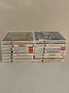 Nintendo 3DS Games in cases - PICK AND CHOOSE