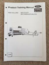 New Holland 565 570 575 rectangulaire Botteleuse produit manuel de formation