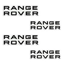 3M Range Rover Brake Caliper Vinyl Decals - 4 pcs - You Choose Color! FREE SHIP!