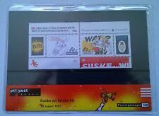 """Nederland PTT postzegelmapje 168 """"Suske en Wiske (II)"""" 1997"""