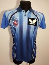 TABLE TENNIS BUTTERFLY SHIRT JERSEY CAMISETA MAGLIA BLUE BLACK HESSEN EXCELLENT