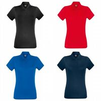 Fruit Of The Loom - Polo sport - Femme (BC3480)