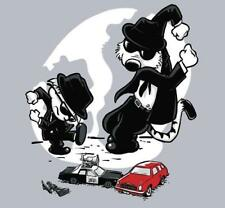 Calvin and Hobbes as The Blues Brothers Parody Satire Teefury Men Shirt NEW