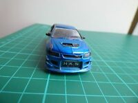 Mitsubishi Lancer Evolution VIII 2002  Blue Fast And Furious Toy Car Universal S