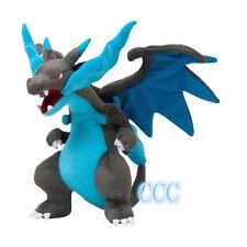 22CM New Cute Pokemon Charizard Mega X Kids Toy Soft Plush Stuffed Doll Toy