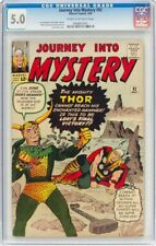 Journey Into Mystery #92 (Marvel, 1963) CGC VG/FN 5.0 Cream to off-white pages.