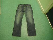 "Denim 73' Clockhouse Loose Jeans Waist 34"" Leg 33"" Faded Dark Blue Ladies Jeans"