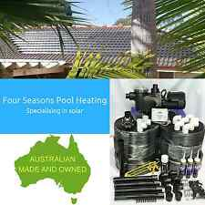 DIY POOL/SPA SOLAR HEATING 12 TUBE 34M2 - AUSTRALIAN MADE WITH PUMP & CONTROLLER