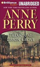 Charlotte and Thomas Pitt: Treason at Lisson Grove 26 by Anne Perry (2011, CD, U