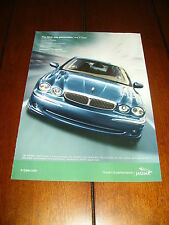 2002 JAGUAR X TYPE  ***ORIGINAL AD***