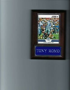 TONY ROMO PLAQUE DALLAS COWBOYS FOOTBALL NFL   C
