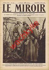 Le miroir n°131 du 28/05/1916 Mangin Verdun Pétain Poperinghe