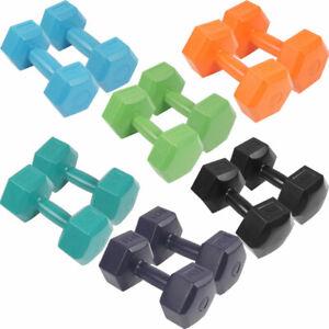 SportVida Hanteln Hantel Set Gewichte für Krafttraining 1-6kg