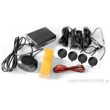 Parking Sensors, Reverse Rear, Aid Kit with Audio Buzzer Matt Black