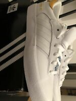 Genuine Adidas Matchbreak Mens Trainers size UK 10.5 - White