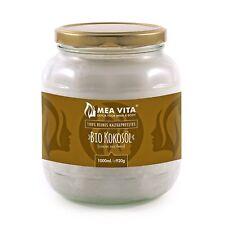 OLIO DI COCCO 1 Litro Extra Vergine Vegan Crudo - NATURALE BIOLOGICO IN OFFERTA