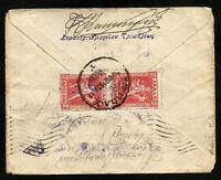 GREECE to CANADA cover 1928 - V/Nice
