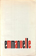 EMMANUELLE   Forum Editoriale   I edizione 1968