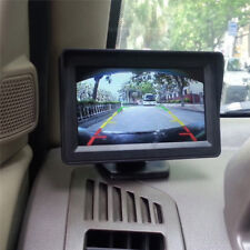 Car 3.5''LCD RearView Monitor Night Vision Reverse Image Waterproof LED`CamerMB