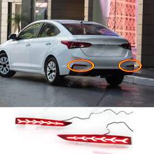 2018-2020 For Hyundai Accent LED Rear Bumper Brake Warning Light/ Turn Signal *2
