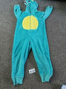 Boys All In One Crocodile / Dinosaur Dress up/ Sleepsuit Age 3-4 Years  (B612)