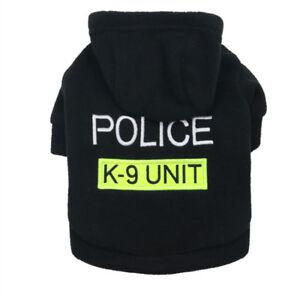 Pet Hoodie Boy Dog Coat Warm Clothes Male Puppy Jacket Basic Sweater XS S M L