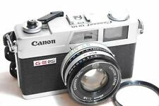 """[EXC.++] Canon Canonet QL19 GⅢ 3 Rangefinder Film Camera """"Filly Works""""/45mm F1.9"""