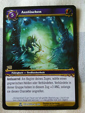 Extinguir World of Warcraft tradingcard Blizzard Entertainment TCG Wow