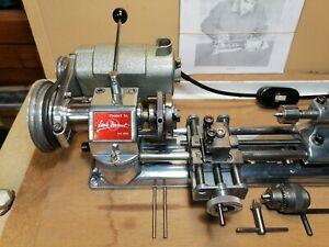 Emco Unimat modell SL tour à métaux modélisme jouet ancien lathe vintage toys